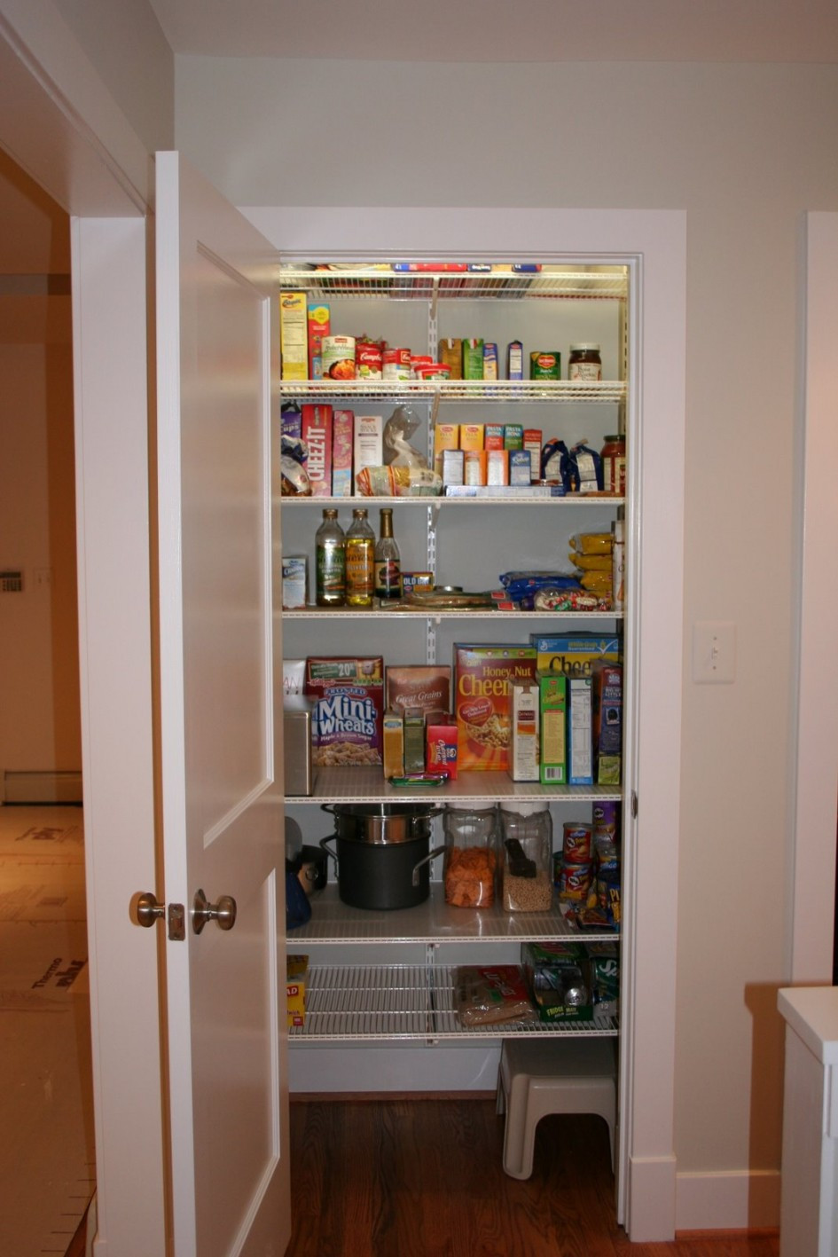Best ideas about Kitchen Organizer Shelf . Save or Pin Creative Pantry Shelving Systems Home Decorations Now.