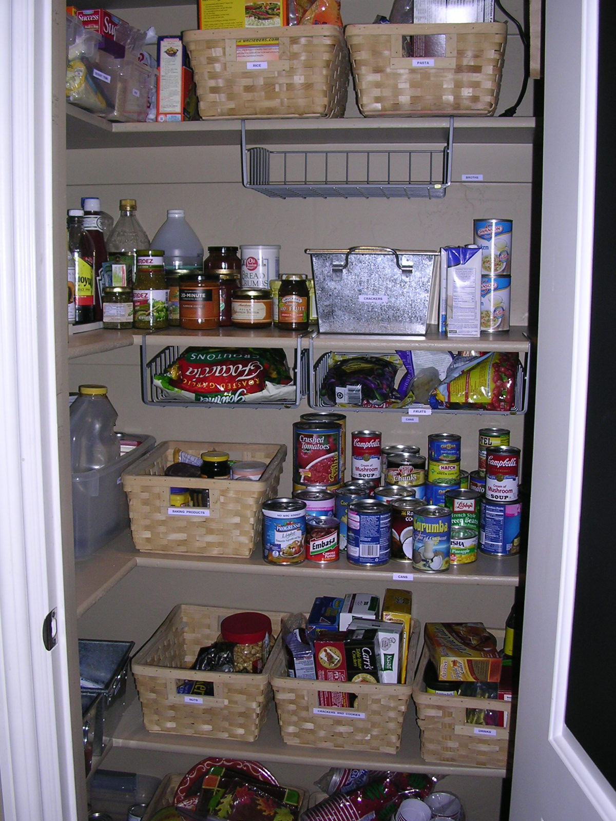 Best ideas about Kitchen Organizer Shelf . Save or Pin Tall kitchen pantry cabinet Now.