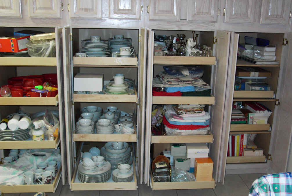 Best ideas about Kitchen Organizer Shelf . Save or Pin Kitchen pantry cabinet pull out shelf storage sliding shelves Now.