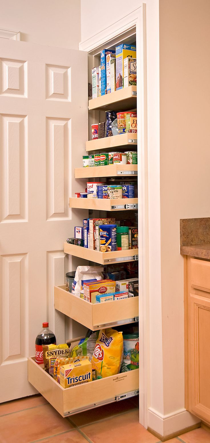 Best ideas about Kitchen Organizer Shelf . Save or Pin 40 Organization And Storage Hacks For Small Kitchens Now.