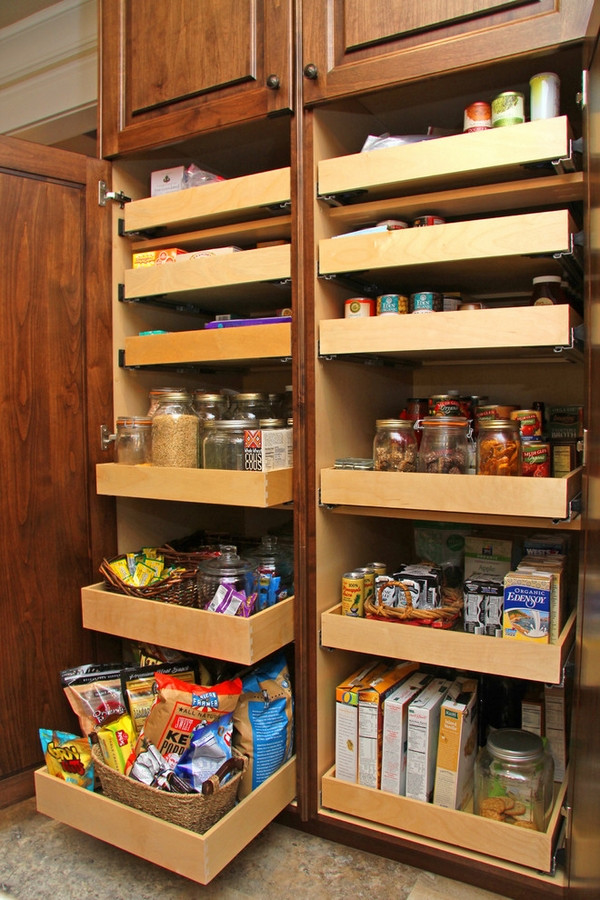 Best ideas about Kitchen Organizer Shelf . Save or Pin 30 Kitchen pantry cabinet ideas for a well organized kitchen Now.