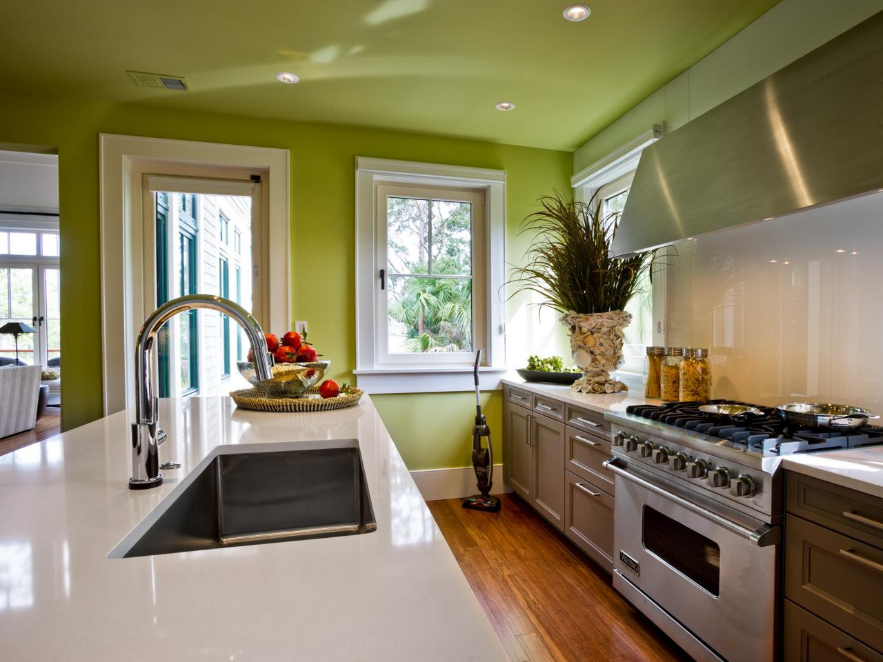 Best ideas about Kitchen Paint Color Ideas . Save or Pin 30 Best Kitchen Color Paint Ideas 2018 Interior Now.