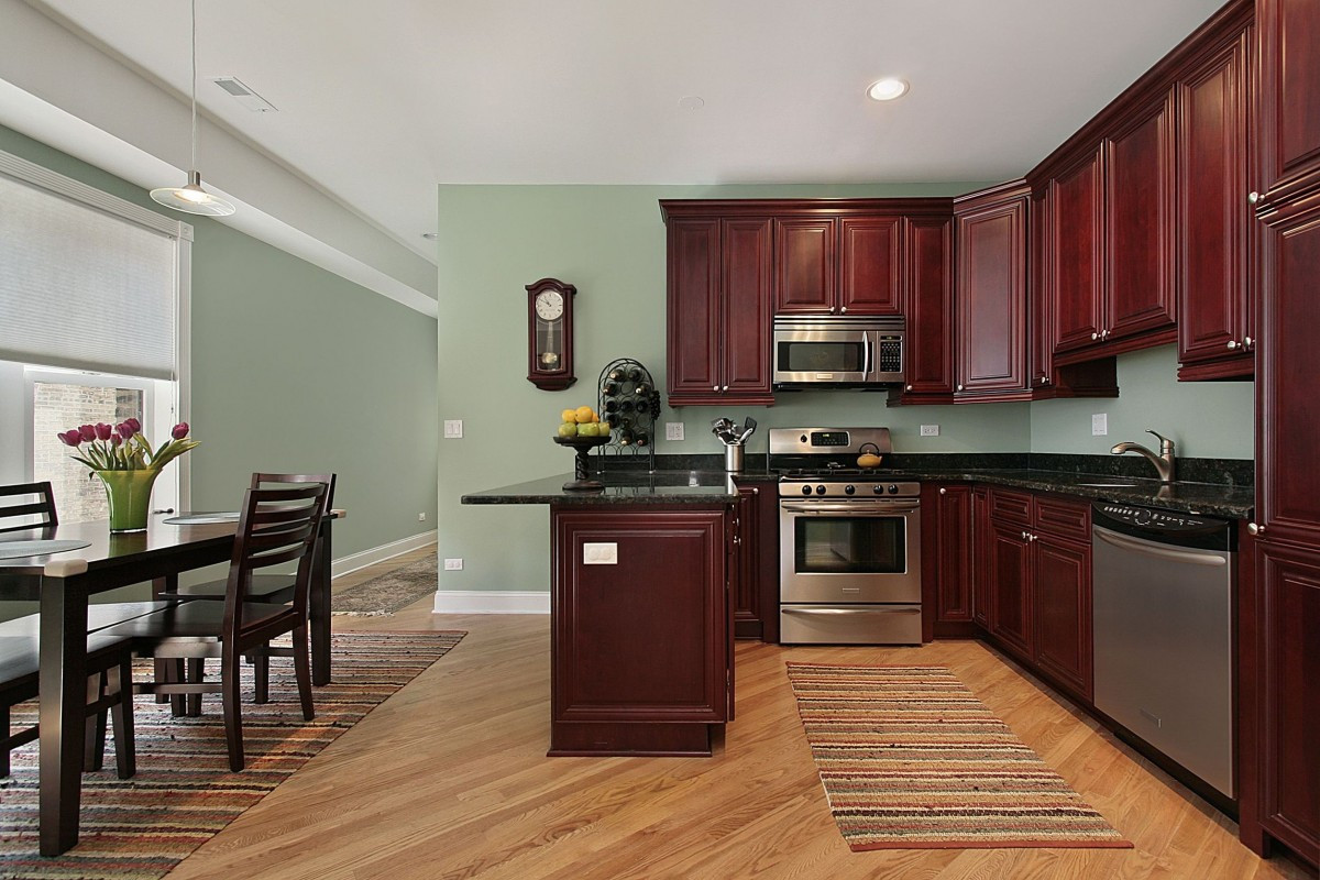 Best ideas about Kitchen Paint Color Ideas . Save or Pin Kitchen Paint Colors with Cherry Cabinets Home Furniture Now.