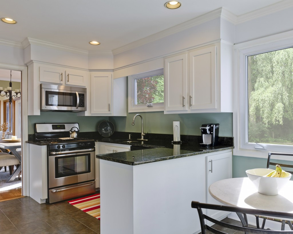 Best ideas about Kitchen Paint Color Ideas . Save or Pin Kitchen Paint Color Ideas with White Cabinets Home Now.
