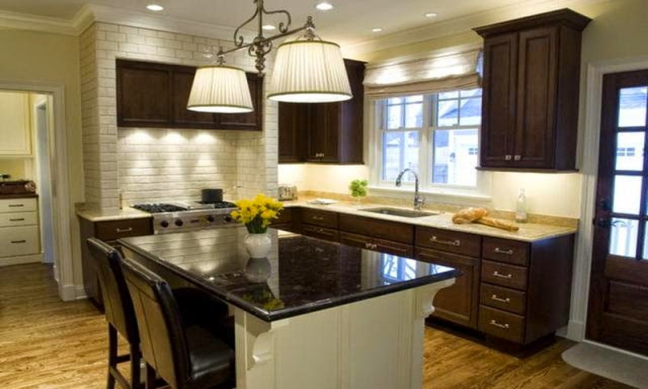 Best ideas about Kitchen Paint Color Ideas . Save or Pin Kitchen wall colors with dark cabinets kitchen paint Now.