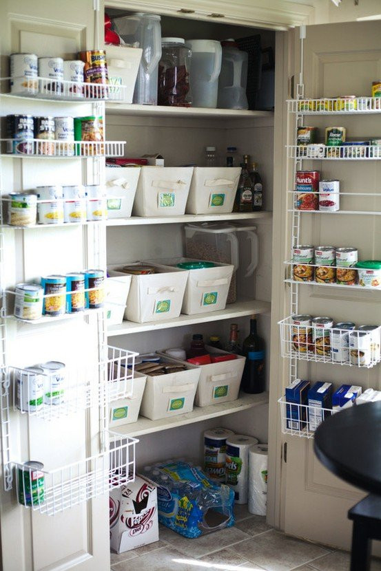 Best ideas about Kitchen Pantry Organization Ideas . Save or Pin 15 Stylish Pantry Organizer Ideas For Your Kitchen Now.