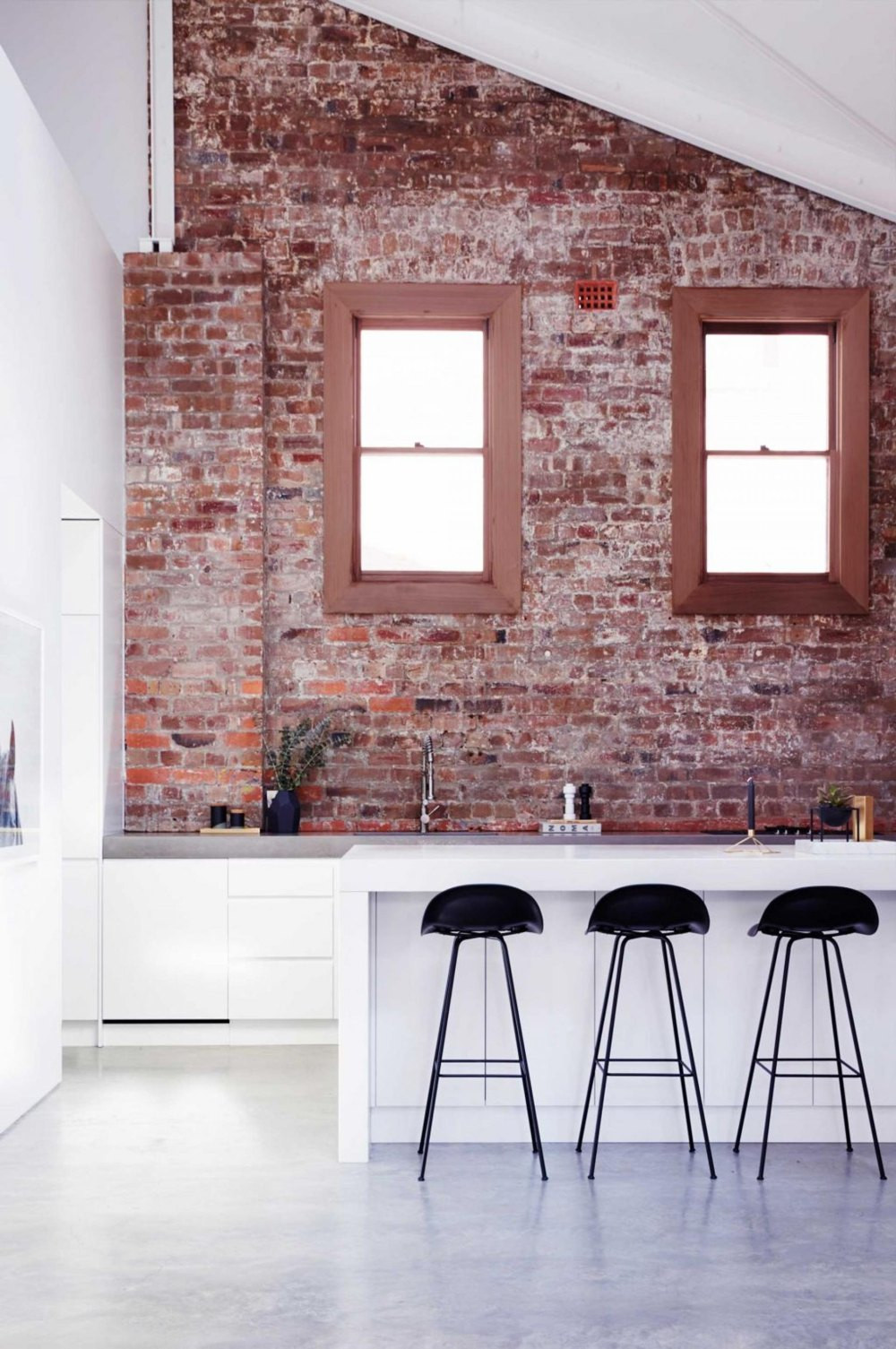 Best ideas about Kitchens With Brick Accent Walls . Save or Pin 19 Stunning Interior Brick Wall Ideas Now.