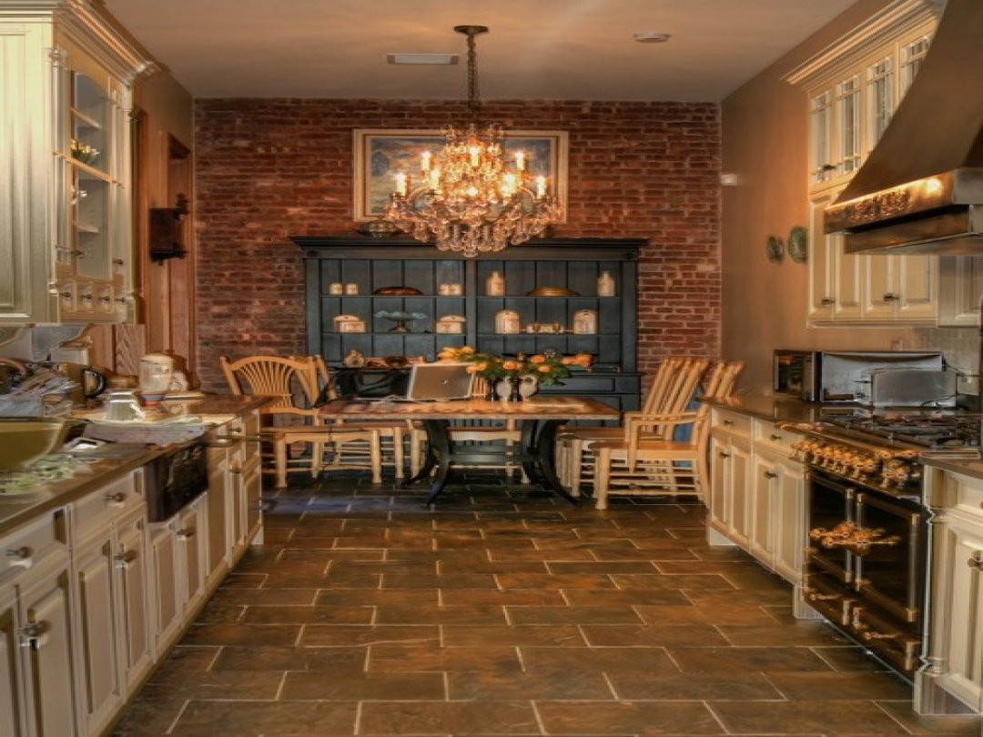 Best ideas about Kitchens With Brick Accent Walls . Save or Pin Kitchens With Brick Accent Walls Wall Kitchen Exposed Now.
