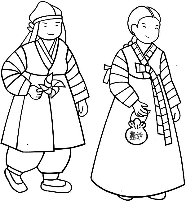 Korean Coloring Book  Kpop Free Coloring Pages