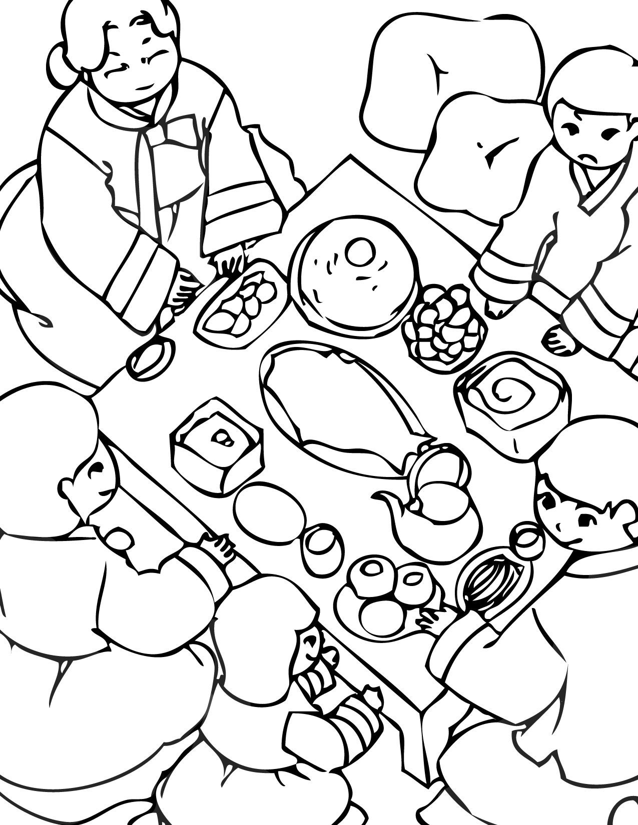 Korean Coloring Book  Korean Coloring Pages on Pinterest