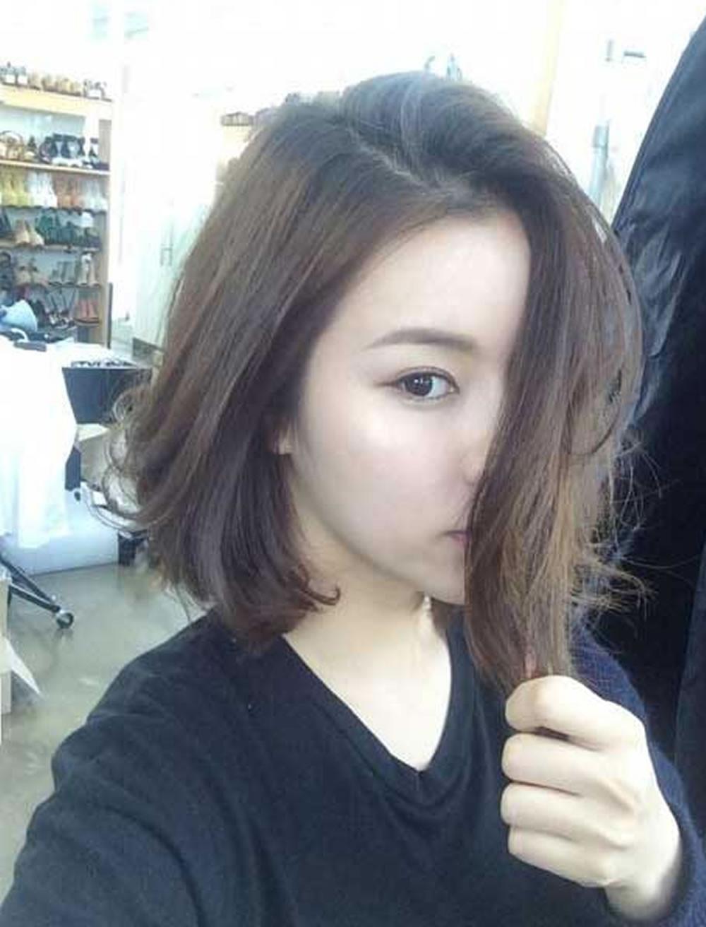 Korean Hairstyle Female 2019  Korean Short Haircuts 2017 Haircuts Models Ideas