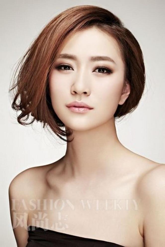 Korean Hairstyle Female 2019  2018 2019 Korean Haircuts For Women Shapely Korean