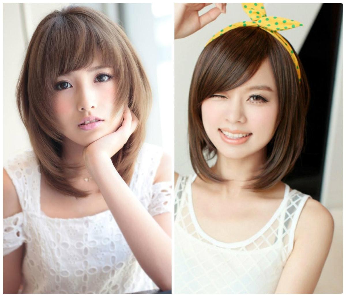 Korean Hairstyle Female 2019  Greatest best Style Korean Shoulder Length Hairstyles 2017