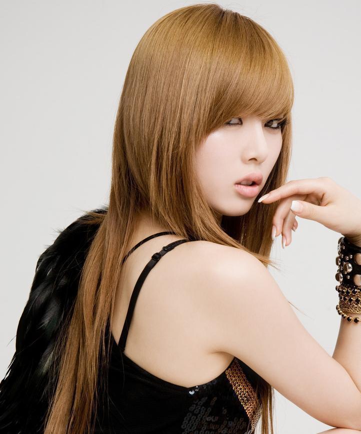 Korean Hairstyles Female  HYUNA S HAIR THROUGH THE YEARS Kpop Korean Hair and Style