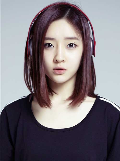 Korean Hairstyles Female  Realmente ideias asiática encantadora corte de cabelo