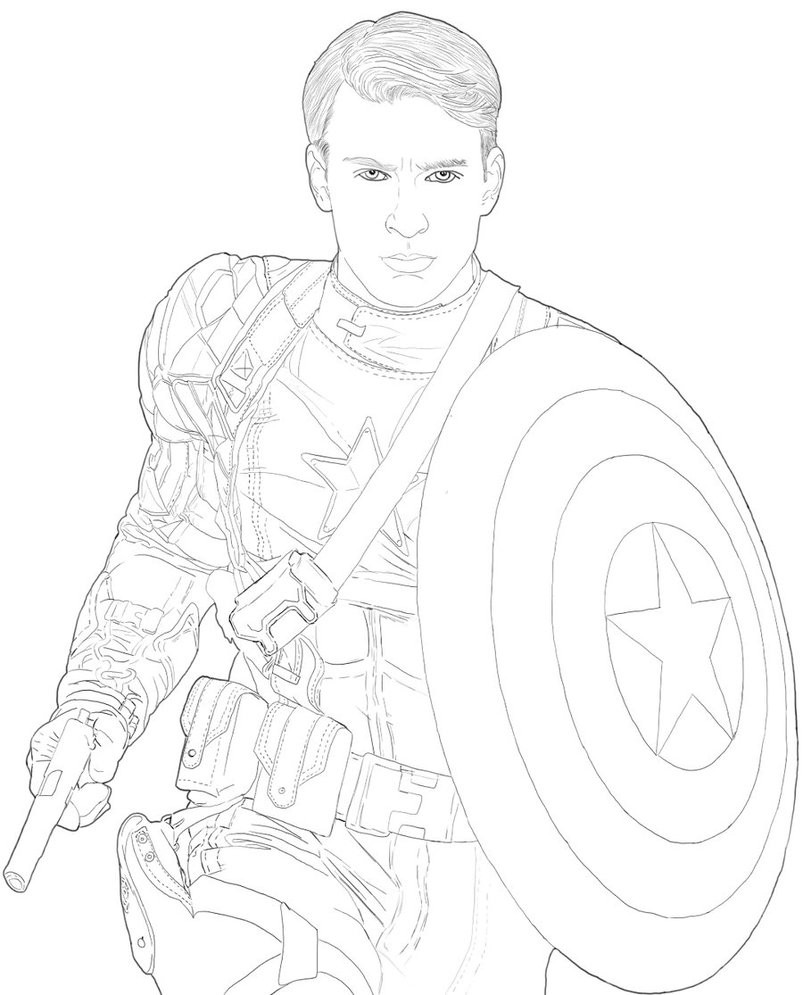 Lab Rats Coloring Pages  The Good Captain by Adorable Lab Rat on DeviantArt