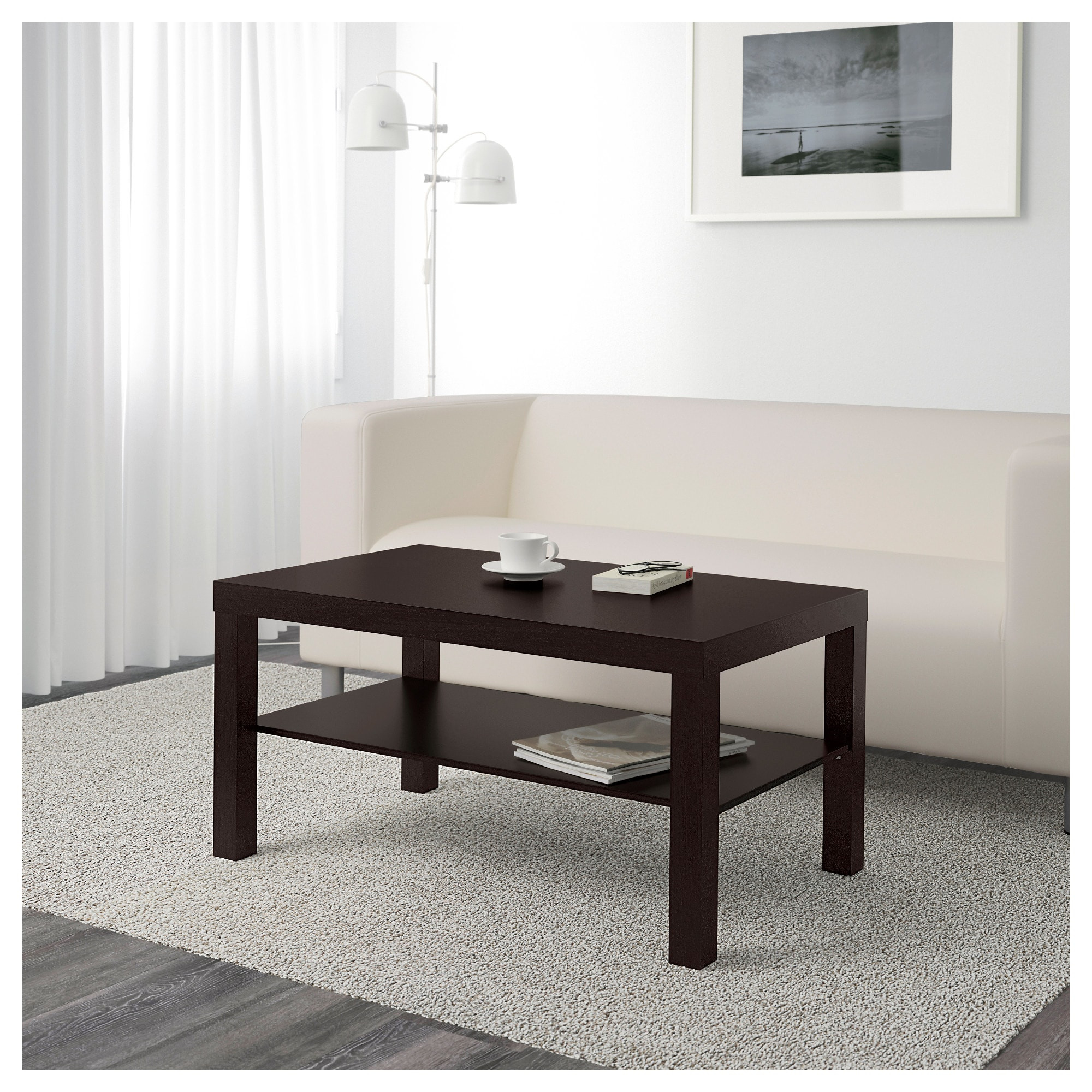 Best ideas about Lack Coffee Table . Save or Pin LACK Coffee table Black brown 90 x 55 cm IKEA Now.