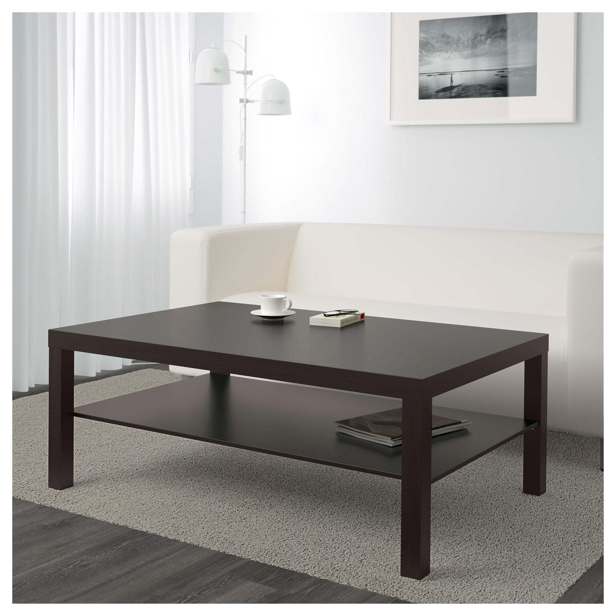 Best ideas about Lack Coffee Table . Save or Pin LACK Coffee table Black brown 118 x 78 cm IKEA Now.
