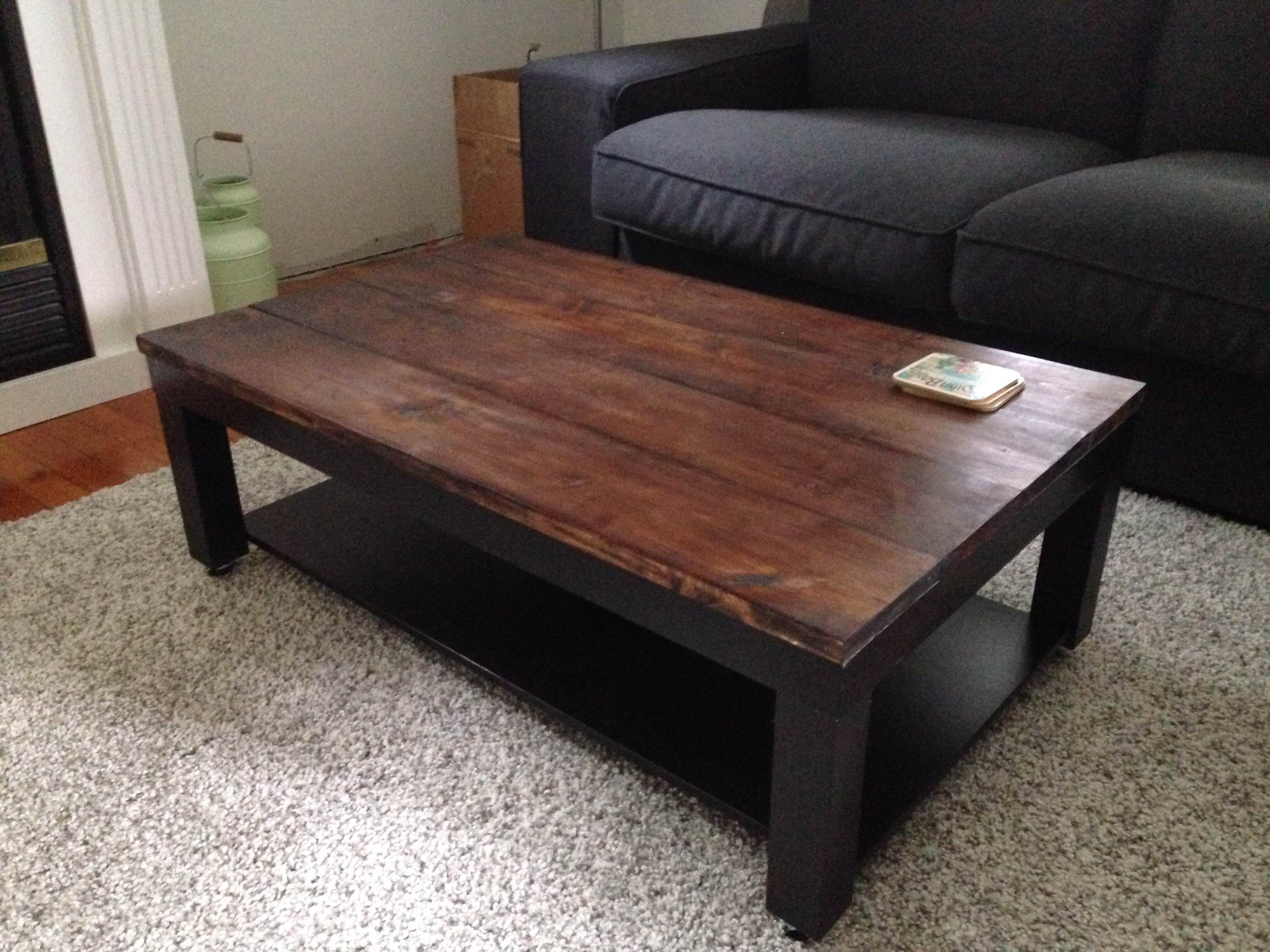 Best ideas about Lack Coffee Table . Save or Pin Ikea Lack Hack Now.