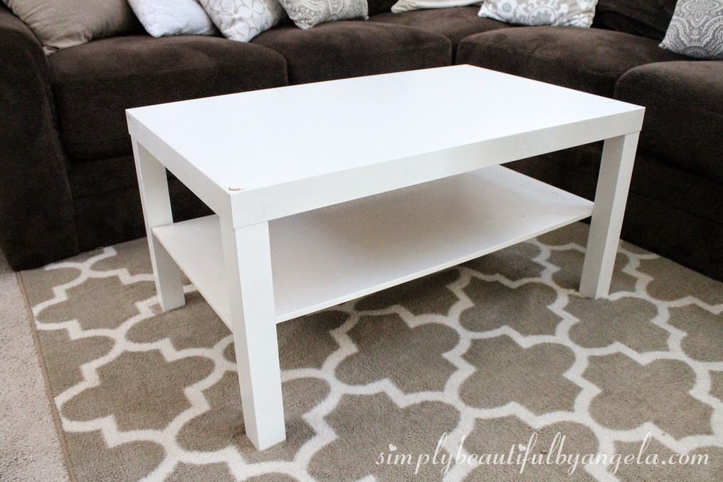 Best ideas about Lack Coffee Table . Save or Pin Simply Beautiful by Angela IKEA Lack Coffee Table Hack Now.