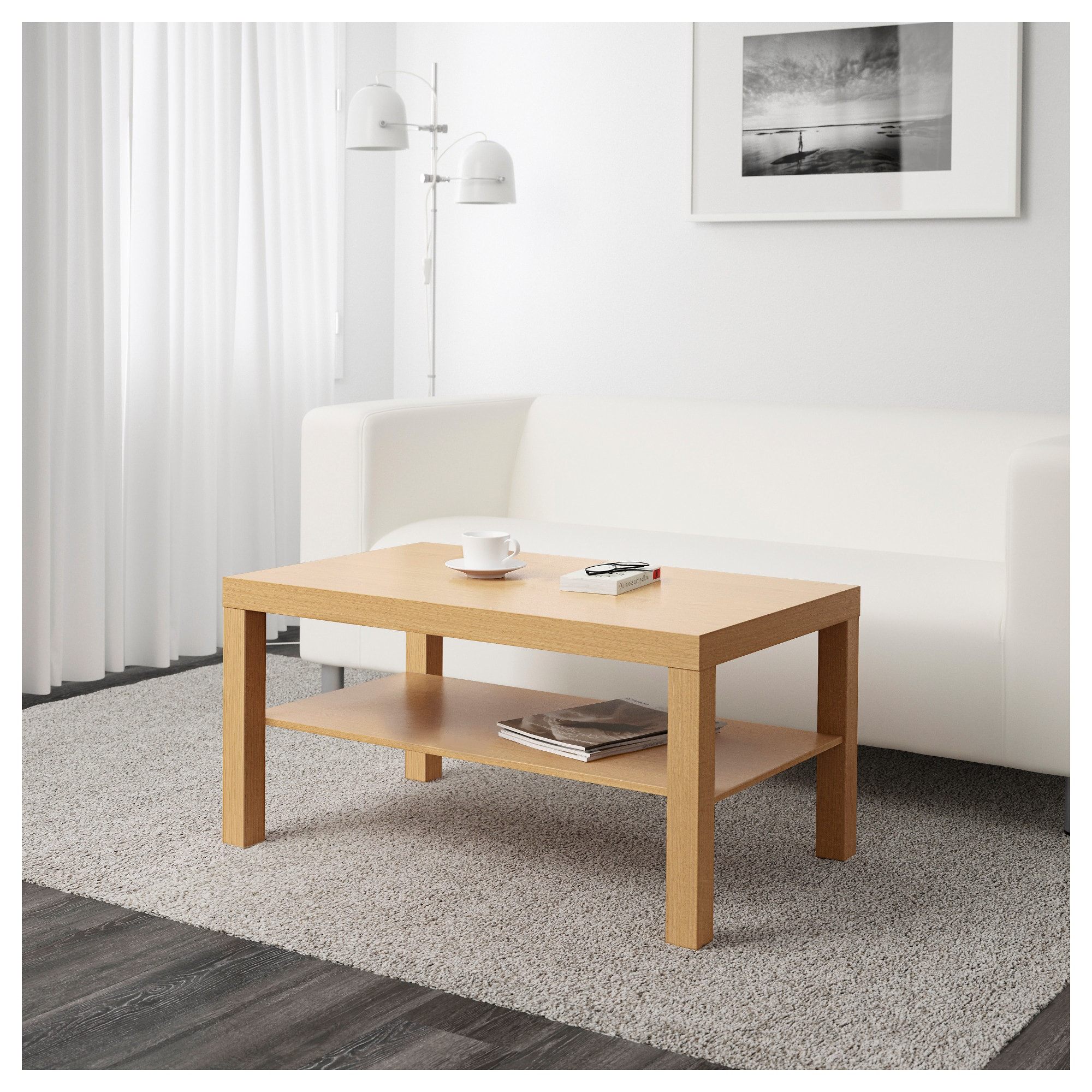 Best ideas about Lack Coffee Table . Save or Pin LACK Coffee table Oak effect 90 x 55 cm IKEA Now.