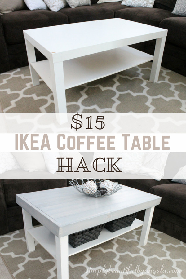 Best ideas about Lack Coffee Table . Save or Pin IKEA Lack Coffee Table Hack Now.