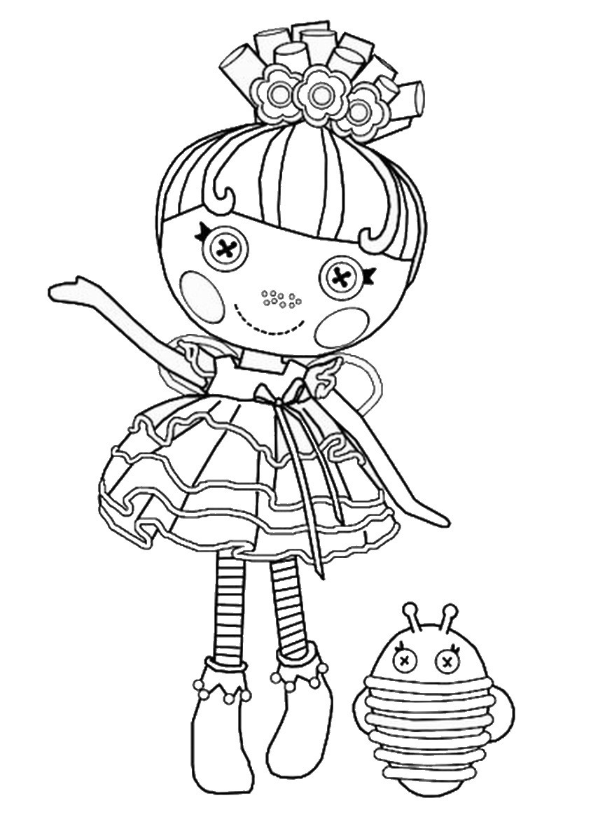 Lalaloopsy Printable Coloring Sheets  Lalaloopsy Coloring Pages – Birthday Printable