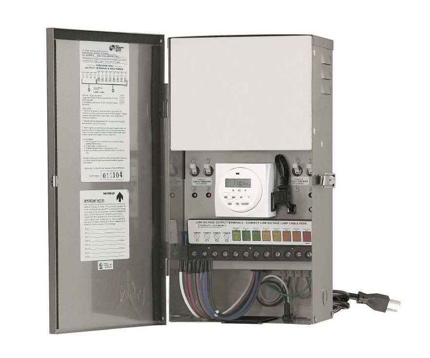 Best ideas about Landscape Lighting Transformer . Save or Pin VISTA HP 1200 Outdoor Lighting VA Multi Tap Low Voltage Now.