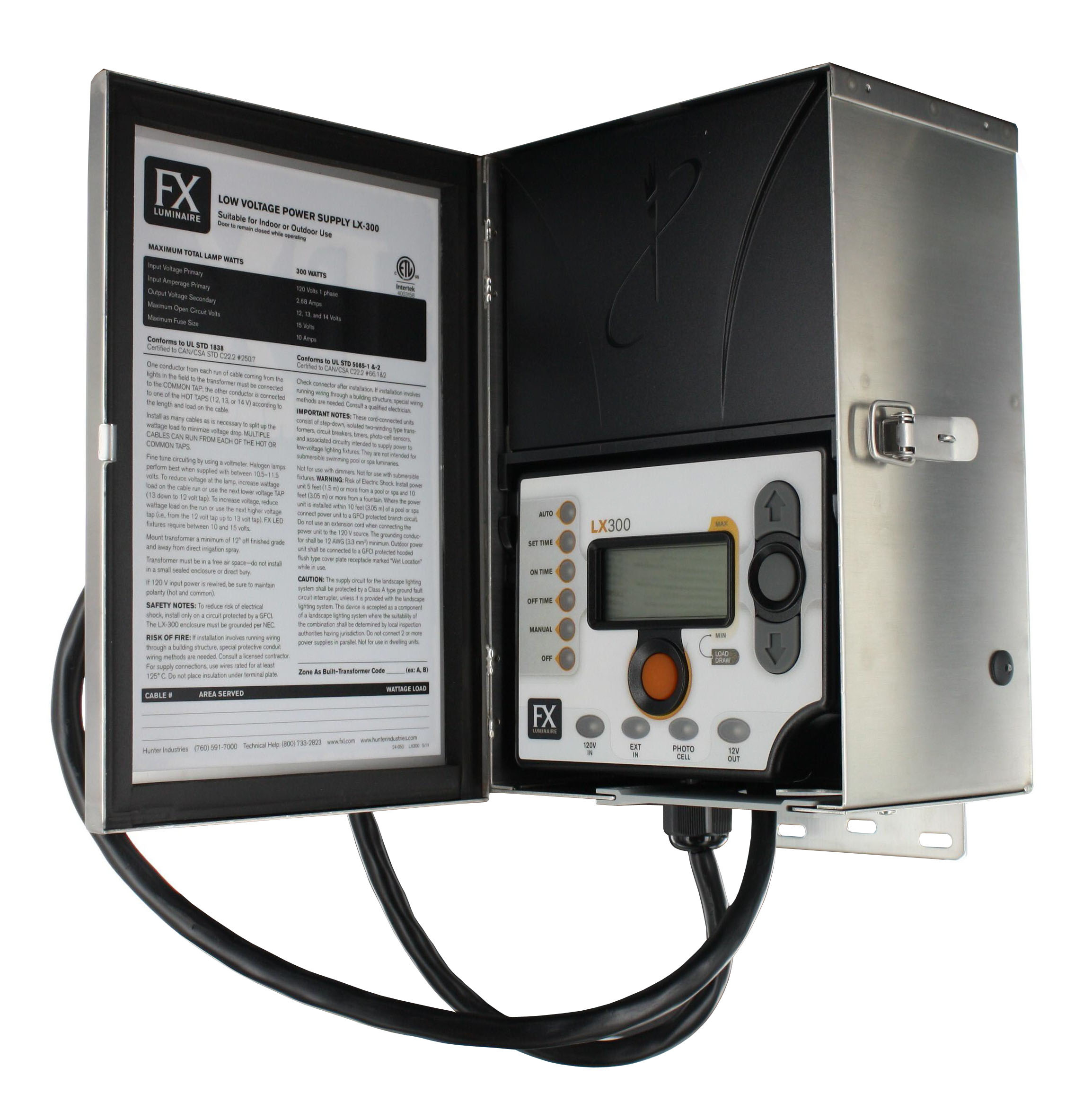 Best ideas about Landscape Lighting Transformer . Save or Pin Installing Low Voltage Outdoor Lighting Now.