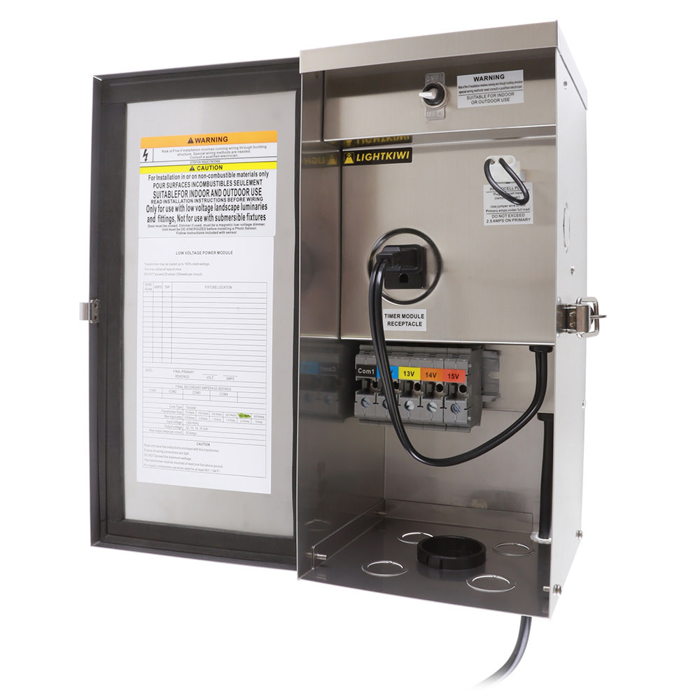 Best ideas about Landscape Lighting Transformer . Save or Pin W9715 300 Watt Multi Tap Low Voltage Transformer Now.