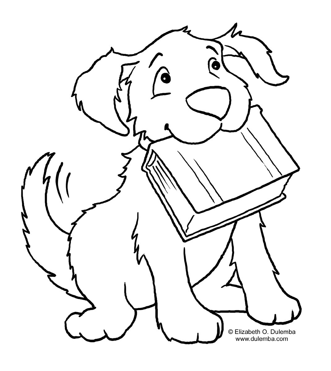 Large Coloring Books For Toddlers  Puppy World Juli 2013