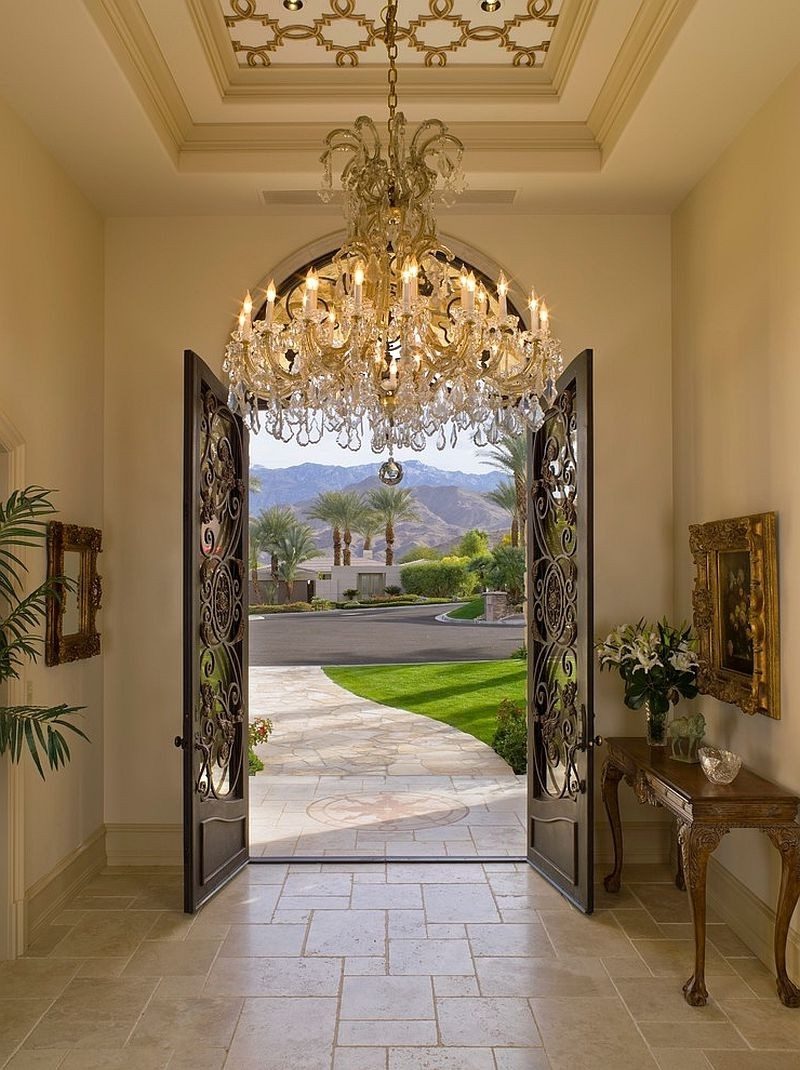 Best ideas about Large Entryway Chandelier . Save or Pin Entryway Chandelier Design — Home Design Romantic Now.