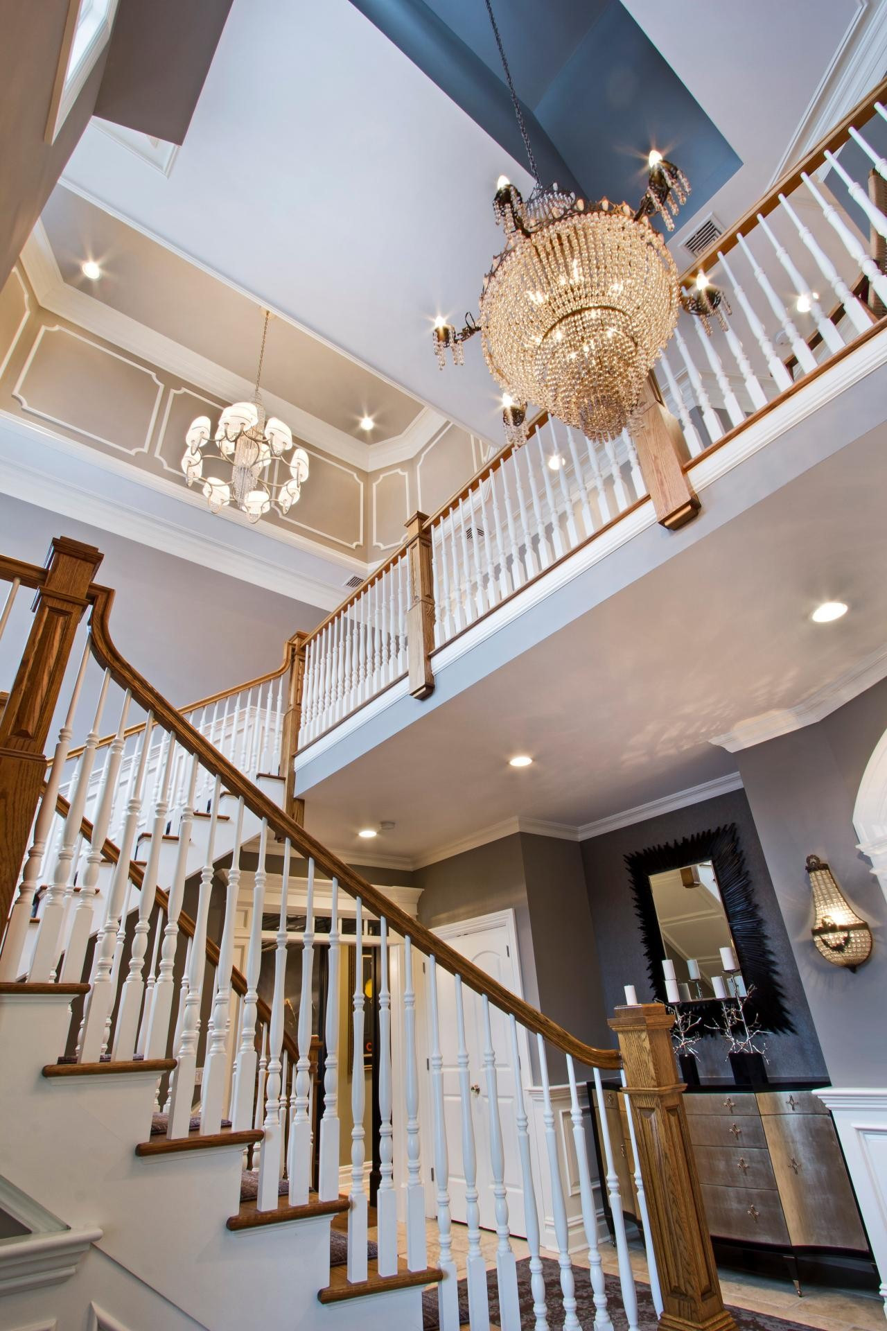 Best ideas about Large Entryway Chandelier . Save or Pin Home Entryway Chandelier — Home Design Romantic Now.