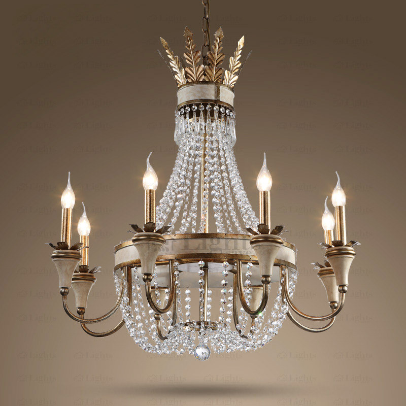 Best ideas about Large Entryway Chandelier . Save or Pin Antique 8 Light Wrought Iron Foyer Chandeliers Now.