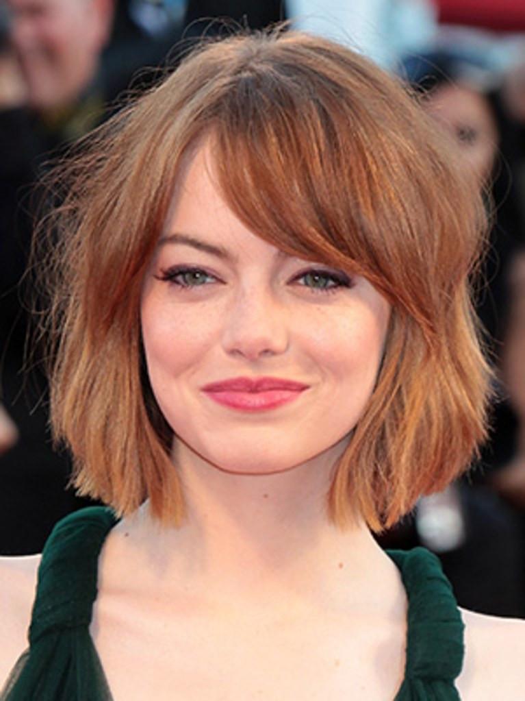 Latest Bob Hairstyle  Emma Stone Has a New Short Bob