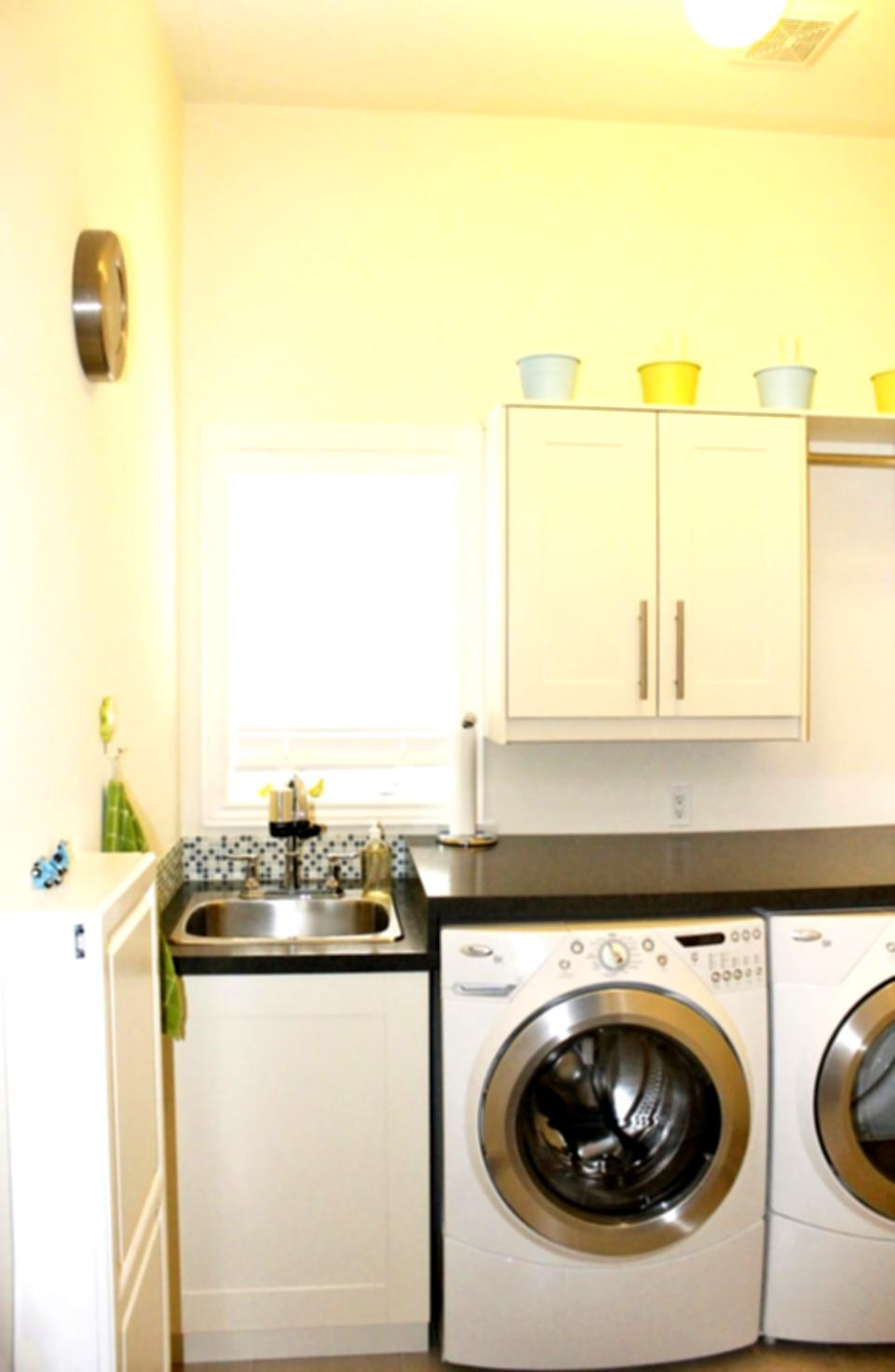 Best ideas about Laundry In Kitchen . Save or Pin Laundry Room In Kitchen kitchen cabinets remodeling Now.