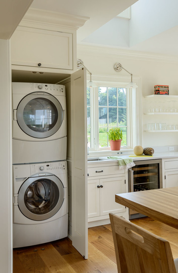Best ideas about Laundry In Kitchen . Save or Pin the Drawing Board – 9 Kitchen Conveniences We Love Now.