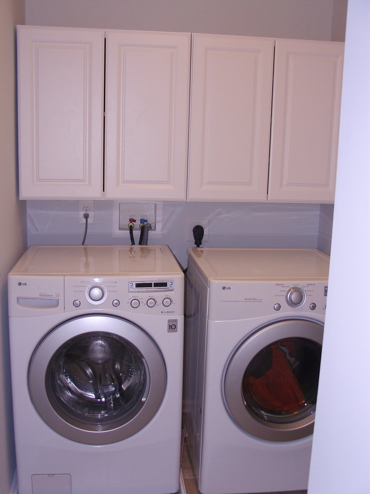 Best ideas about Laundry Room Cabinets Home Depot . Save or Pin Our 1st New Home Building a Ryan Homes Milan Laundry Now.