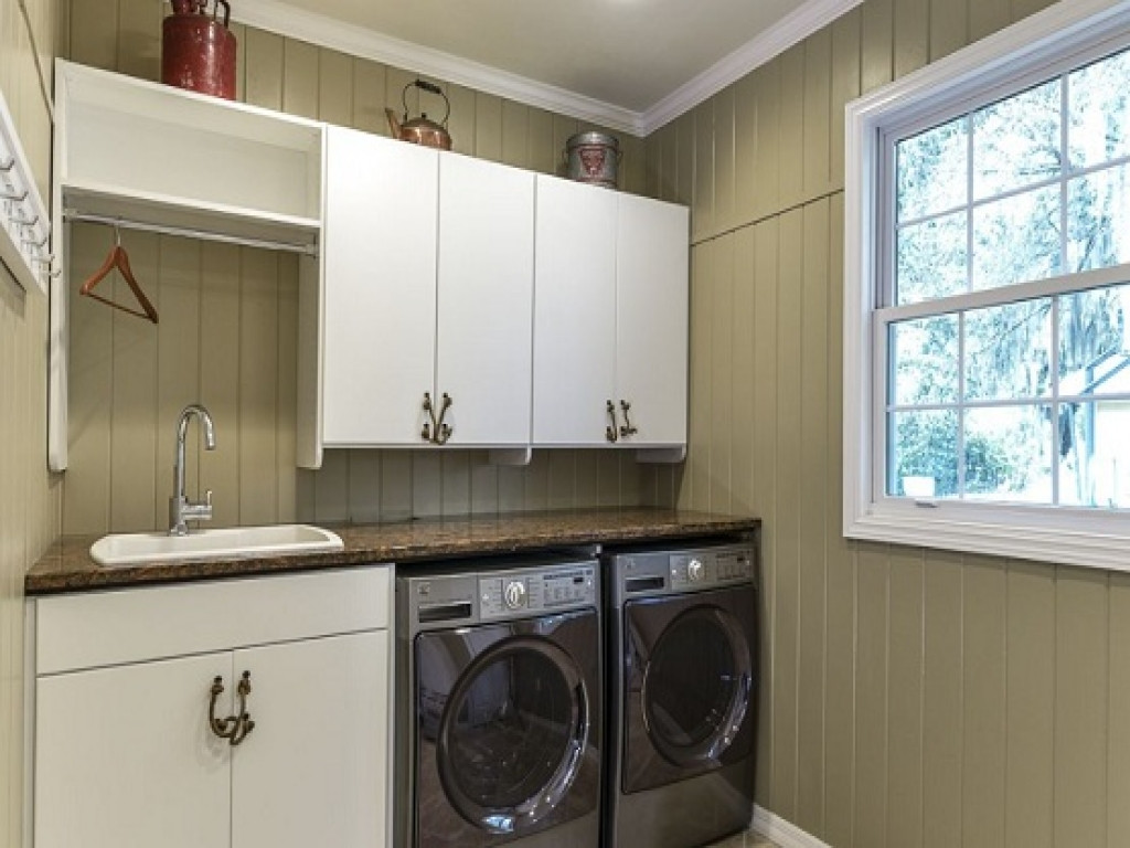 Best ideas about Laundry Room Cabinets Home Depot . Save or Pin Installing cabinets in laundry room home depot laundry Now.