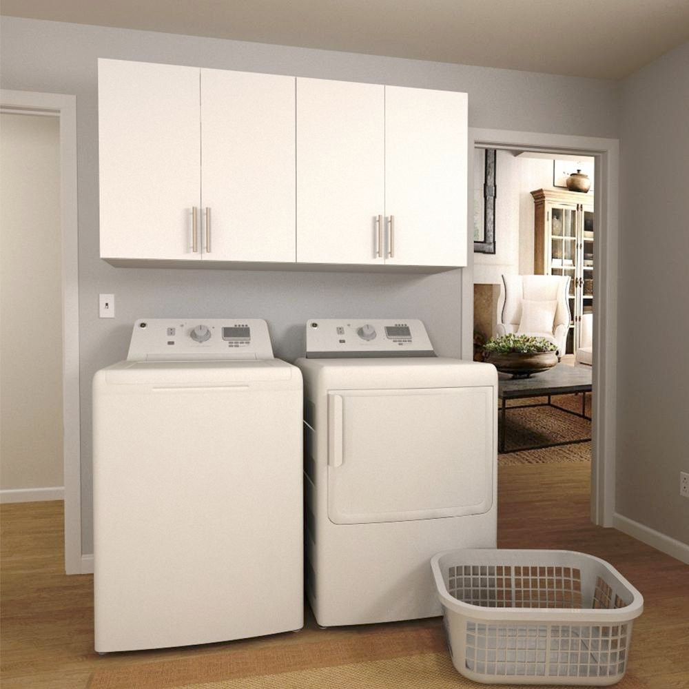 Best ideas about Laundry Room Cabinets Home Depot . Save or Pin Charming Home Depot Laundry Room Cabinets W White Laundry Now.
