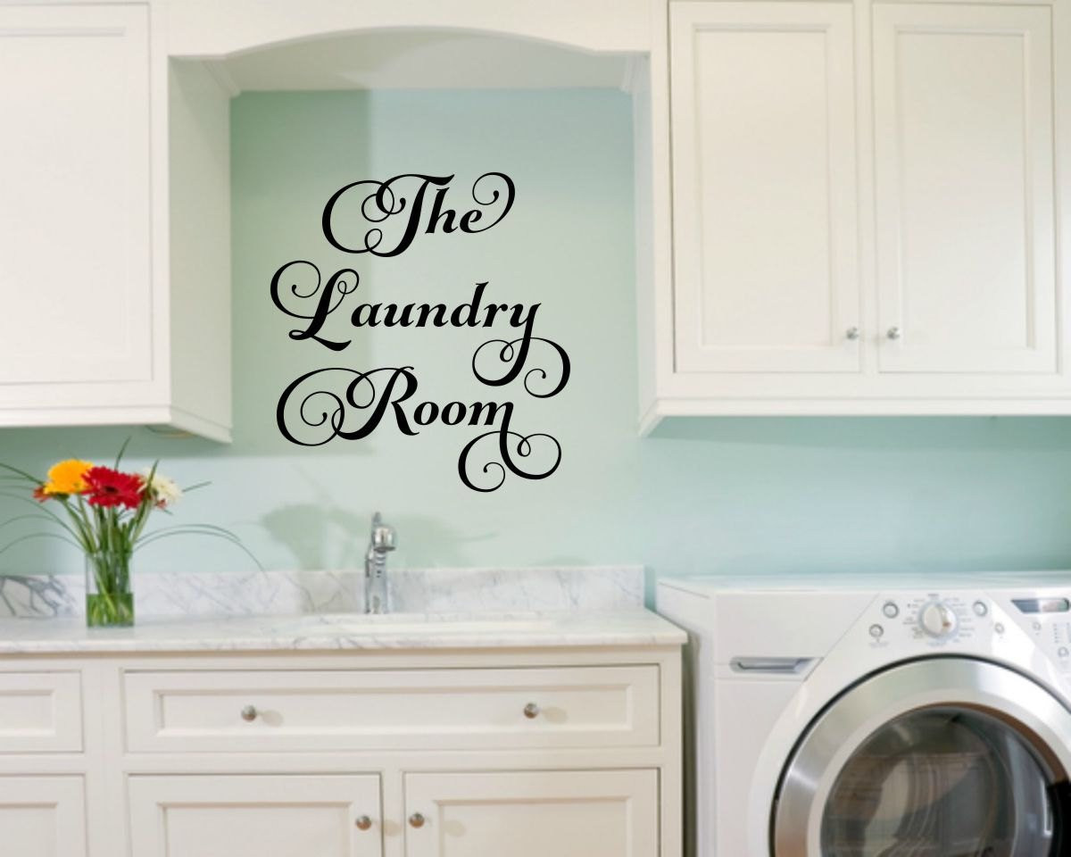Best ideas about Laundry Room Decals . Save or Pin Laundry Room Decal Laundry Wall Decal Laundry Vinyl Decal Now.