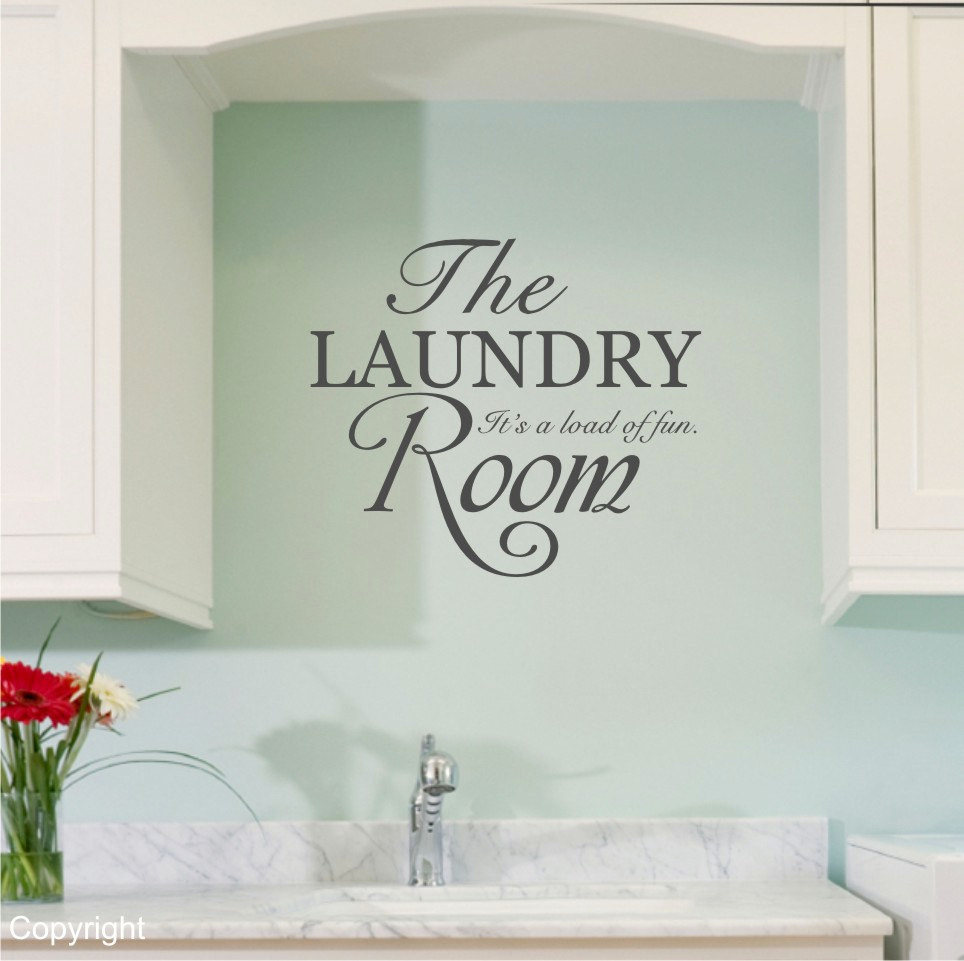 Best ideas about Laundry Room Decals . Save or Pin The Laundry Room vinyl wall decal sticker Now.