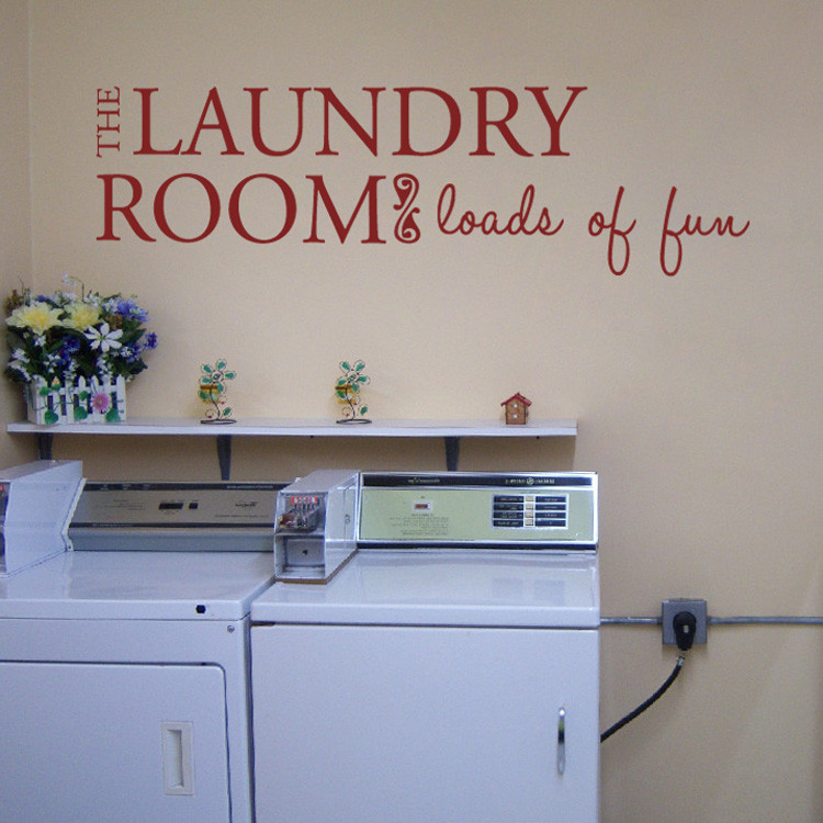Best ideas about Laundry Room Decals . Save or Pin Laundry Room Quotes For Walls QuotesGram Now.