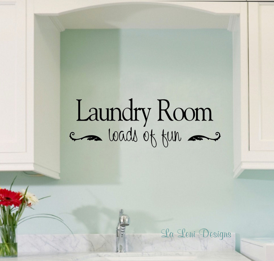 Best ideas about Laundry Room Decals . Save or Pin Laundry Room Decals Now.