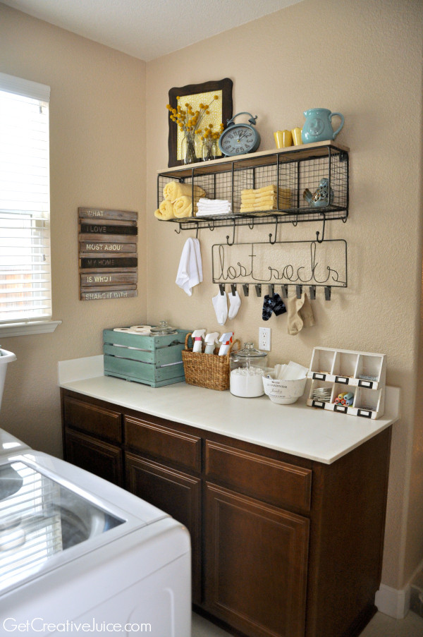 Best ideas about Laundry Room Decor Ideas . Save or Pin Laundry Room Organization and Storage Ideas Creative Juice Now.