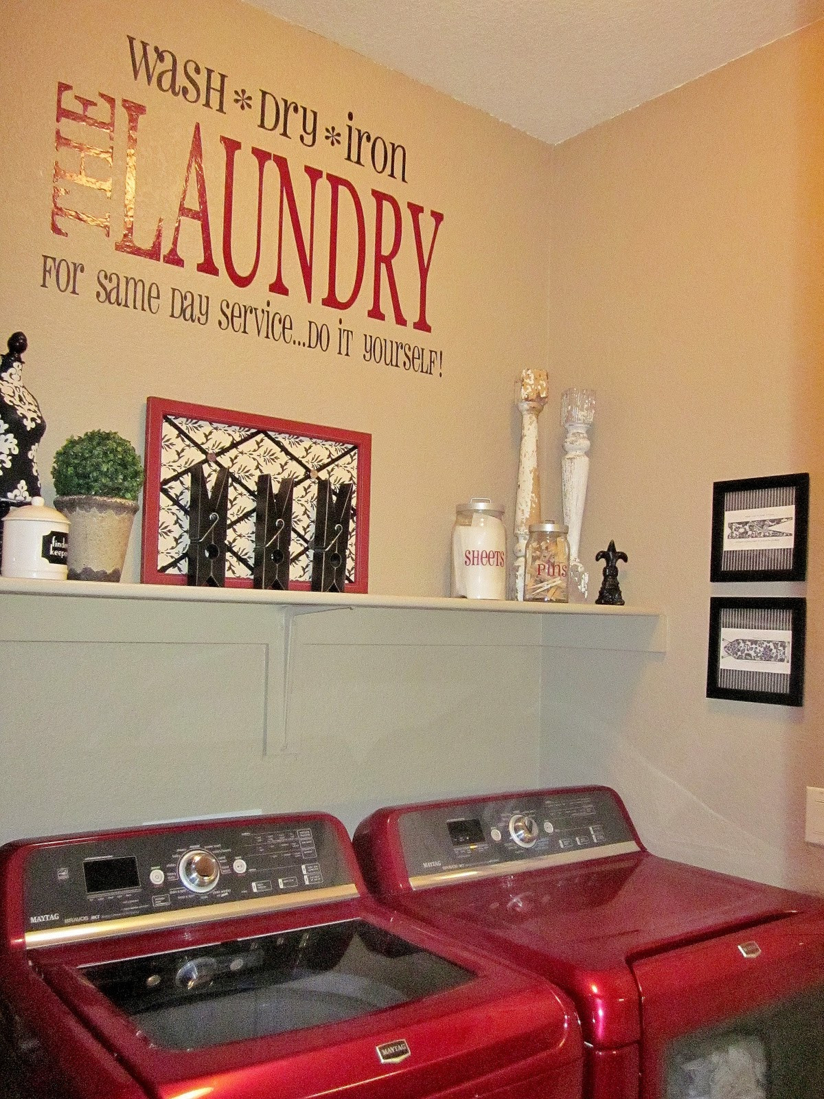 Best ideas about Laundry Room Decor Ideas . Save or Pin 13 Best of Laundry Room Wall Art Decorating Ideas Now.