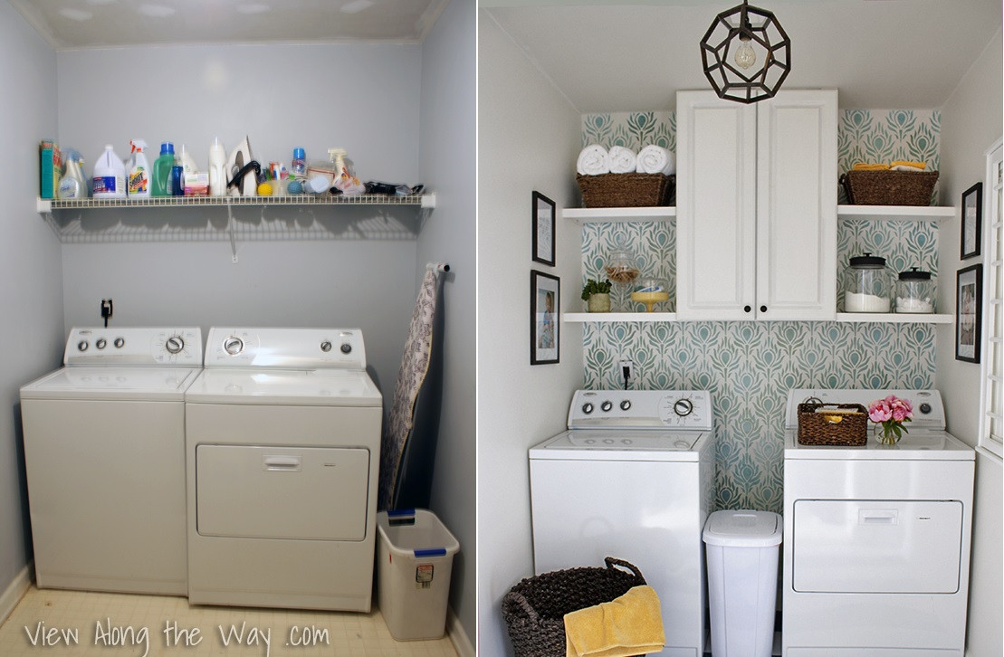 Best ideas about Laundry Room Designs . Save or Pin 6 Laundry Room Reveals To Inspire Your Next Makeover Now.