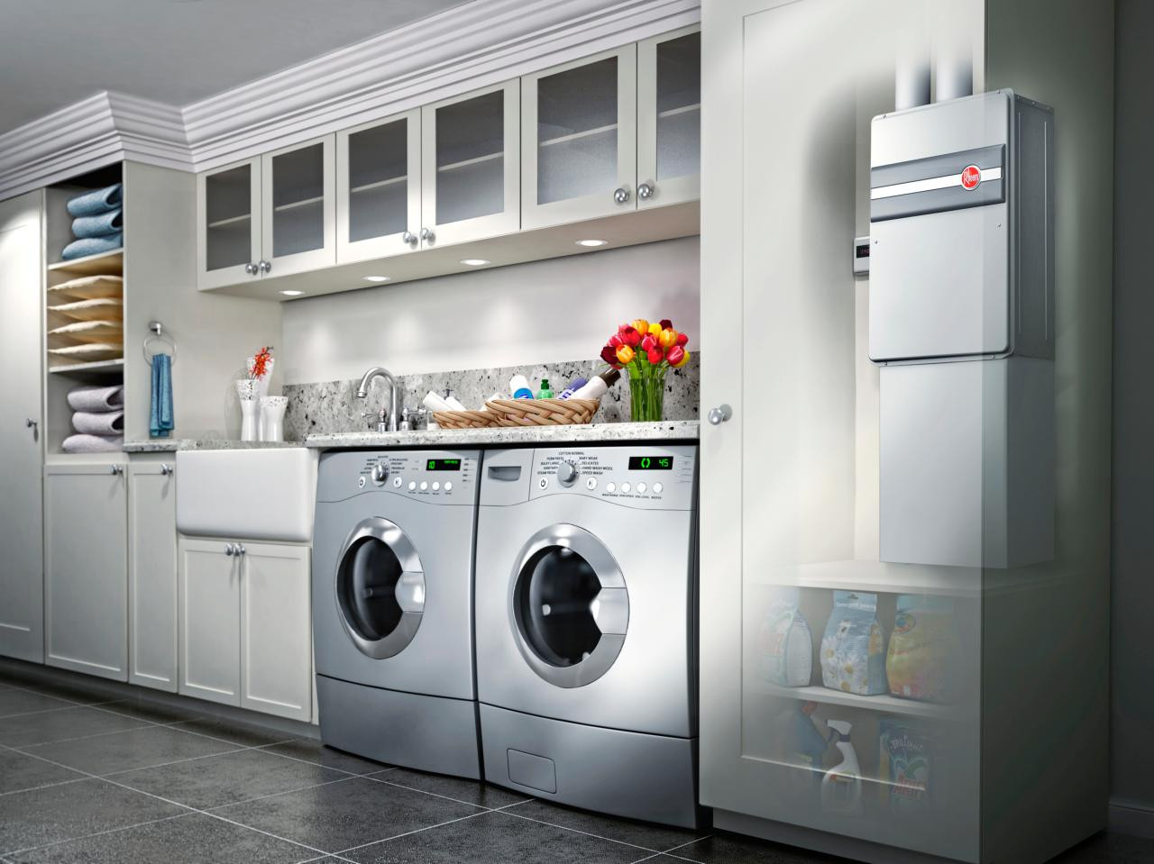 Best ideas about Laundry Room Designs . Save or Pin Dry and fy Laundry Room to Get Your Set Clothes Neatly Now.