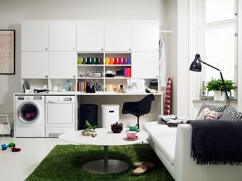 Best ideas about Laundry Room Designs . Save or Pin Laundry Room Storage Organization and Inspiration Now.