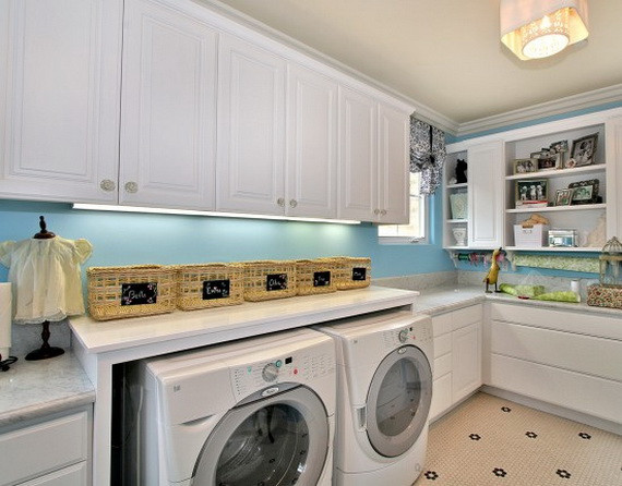 Best ideas about Laundry Room Designs . Save or Pin Beautiful Craft And Laundry Room Designs Multi Purpose Now.